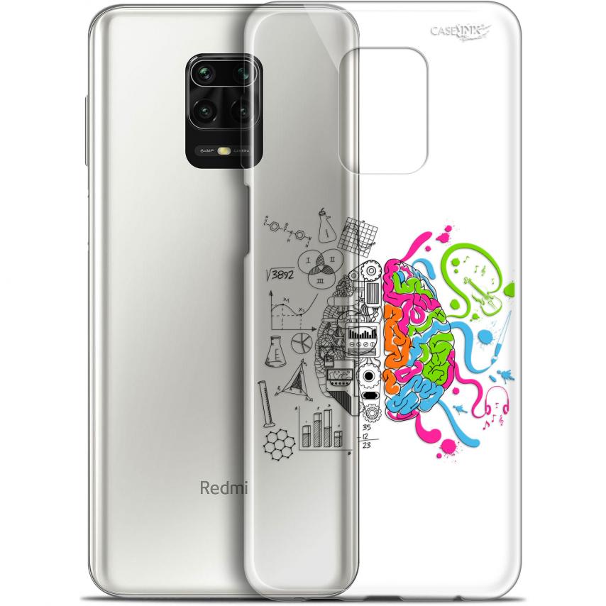 "Carcasa Gel Extra Fina Xiaomi Redmi Note 9S (6.67"") Design Le Cerveau"