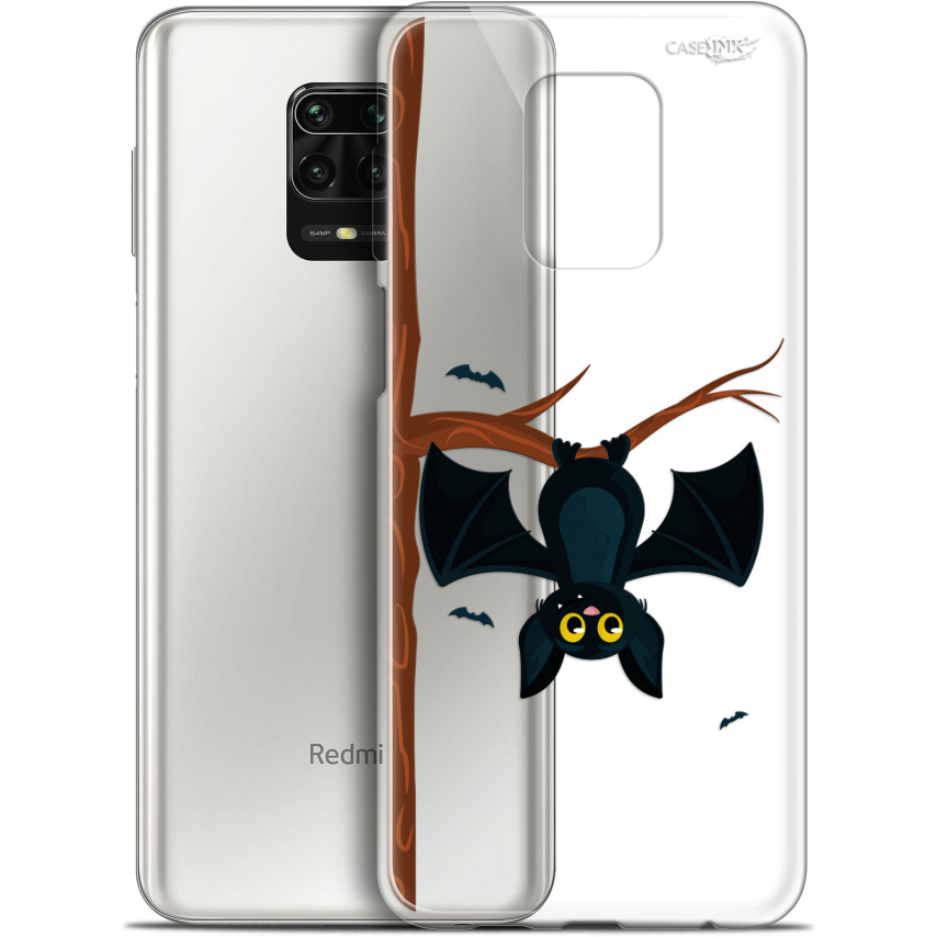 "Carcasa Gel Extra Fina Xiaomi Redmi Note 9S (6.67"") Design Petite Chauve Souris"