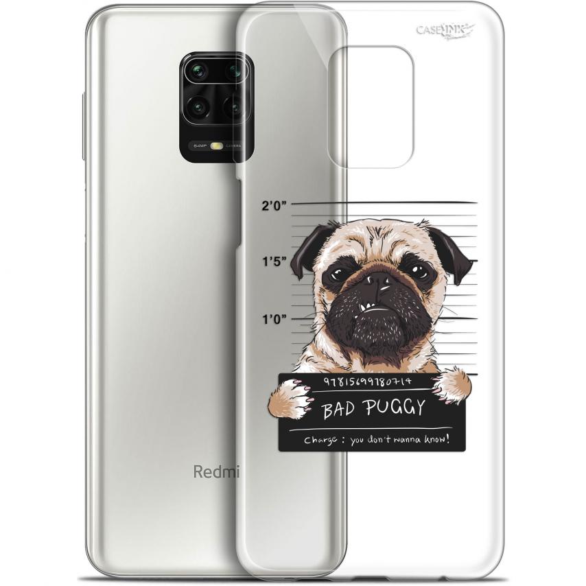 "Carcasa Gel Extra Fina Xiaomi Redmi Note 9S (6.67"") Design Beware The Puggy Dog"