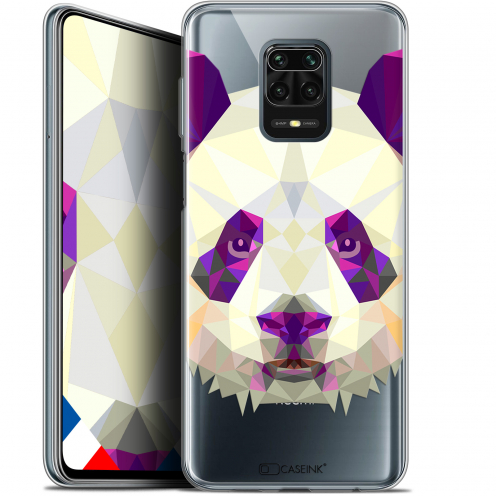"Carcasa Gel Extra Fina Xiaomi Redmi Note 9 PRO (6.67"") Polygon Animals Panda"