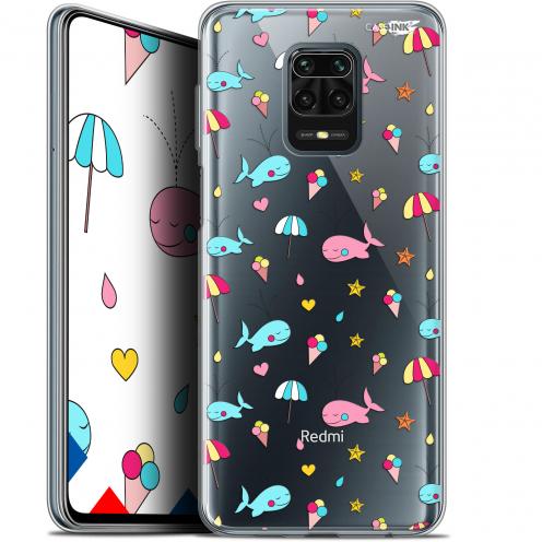 "Carcasa Gel Extra Fina Xiaomi Redmi Note 9 PRO (6.67"") Design Baleine à la Plage"