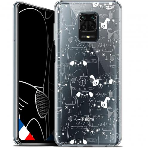 "Carcasa Gel Extra Fina Xiaomi Redmi Note 9 PRO (6.67"") Design Chien Blanc"