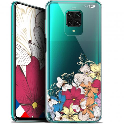 "Carcasa Gel Extra Fina Xiaomi Redmi Note 9 PRO (6.67"") Design Nuage Floral"