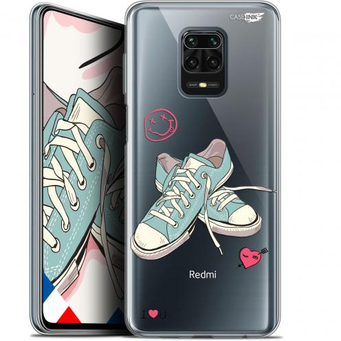 "Carcasa Gel Extra Fina Xiaomi Redmi Note 9 PRO (6.67"") Design Mes Sneakers d'Amour"