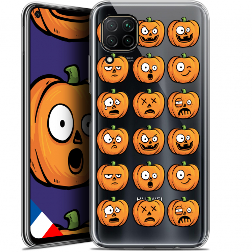 "Carcasa Gel Extra Fina Huawei P40 Lite (6.4"") Halloween Cartoon Citrouille"