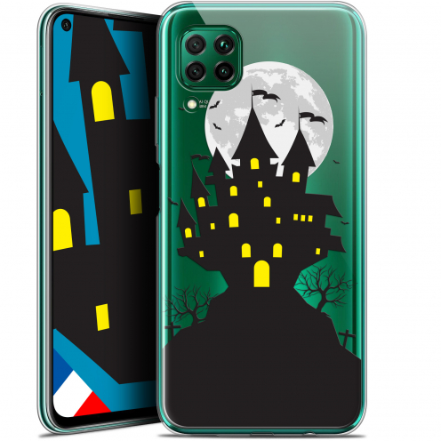 "Carcasa Gel Extra Fina Huawei P40 Lite (6.4"") Halloween Castle Scream"