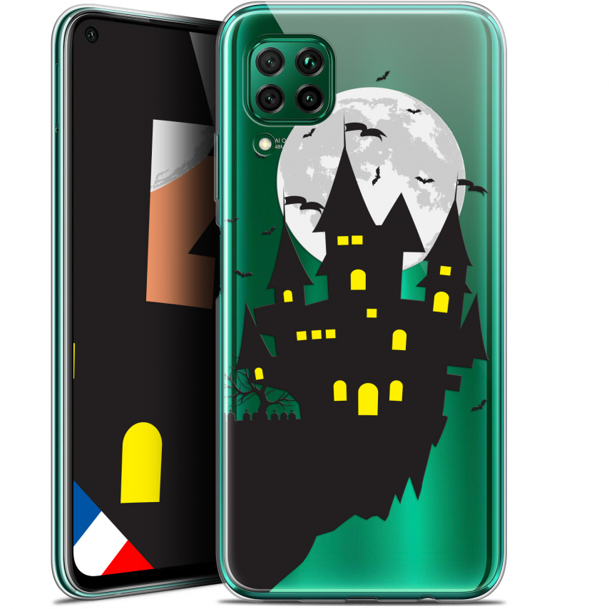 "Carcasa Gel Extra Fina Huawei P40 Lite (6.4"") Halloween Castle Dream"