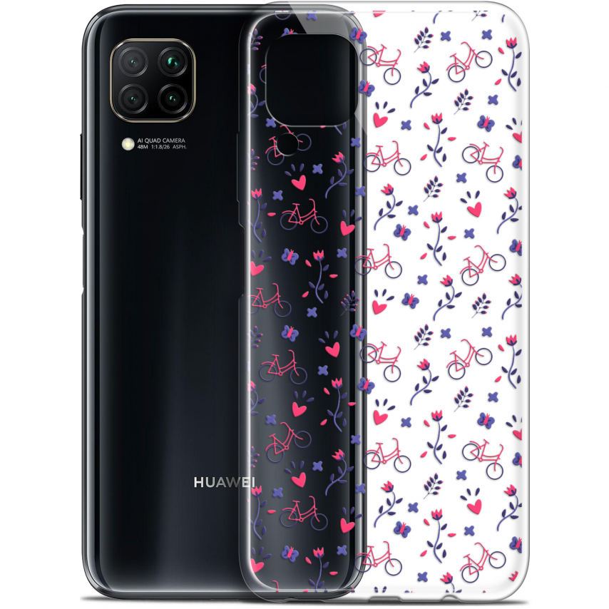 "Carcasa Gel Extra Fina Huawei P40 Lite (6.4"") Love Bicycle"