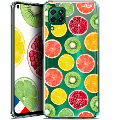 "Carcasa Gel Extra Fina Huawei P40 Lite (6.4"") Design Fruity Fresh"