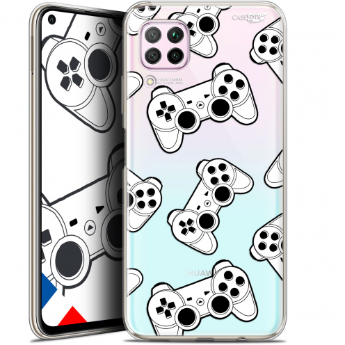 "Carcasa Gel Extra Fina Huawei P40 Lite (6.4"") Design Game Play Joysticks"