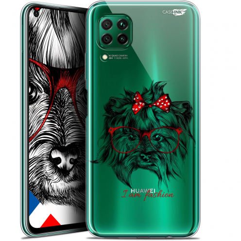 "Carcasa Gel Extra Fina Huawei P40 Lite (6.4"") Design Fashion Dog"