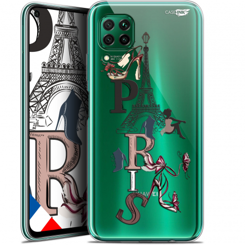 "Carcasa Gel Extra Fina Huawei P40 Lite (6.4"") Design Stylish Paris"