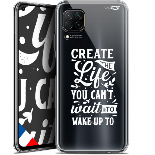 "Carcasa Gel Extra Fina Huawei P40 Lite (6.4"") Design Wake Up Your Life"
