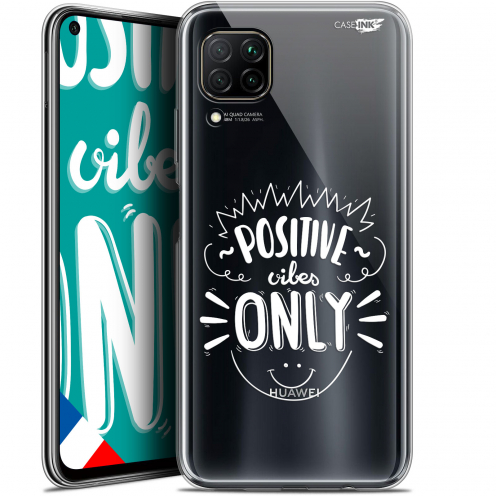 "Carcasa Gel Extra Fina Huawei P40 Lite (6.4"") Design Positive Vibes Only"