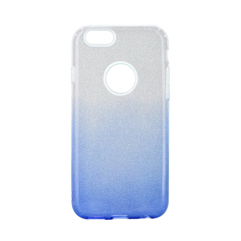 Forcell SHINING carcasa for iPhone 6/6S clear/blue