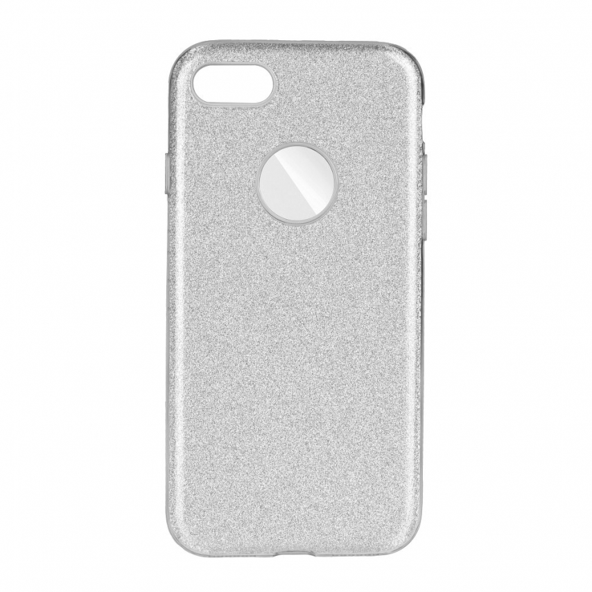 Forcell SHINING carcasa for iPhone 7 / 8 / SE 2020 silver