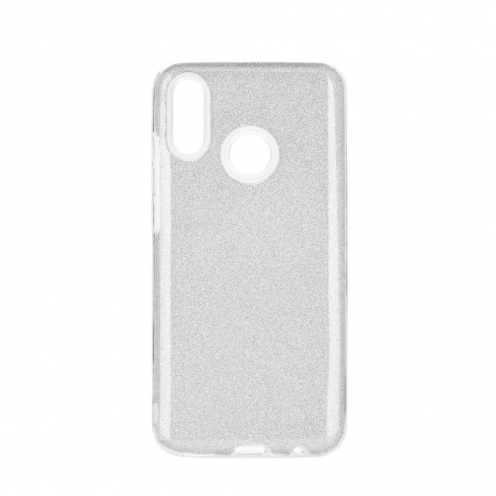 Forcell SHINING carcasa for Huawei P Smart 2019 silver