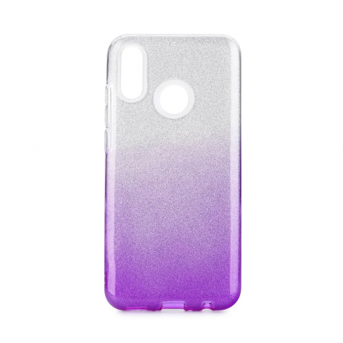 Forcell SHINING carcasa for Huawei P Smart 2019 Transparent/violet