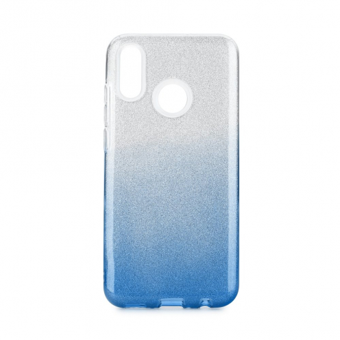 Forcell SHINING carcasa for Huawei P Smart 2019 clear/blue