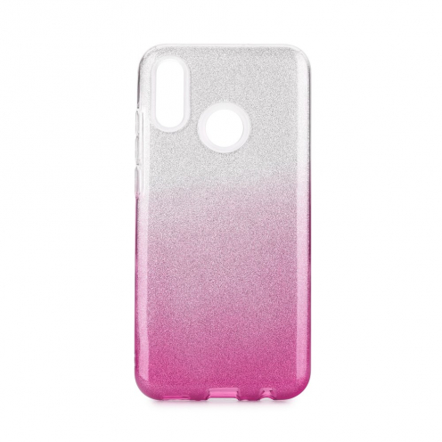Forcell SHINING carcasa for Huawei P Smart 2019 clear/pink