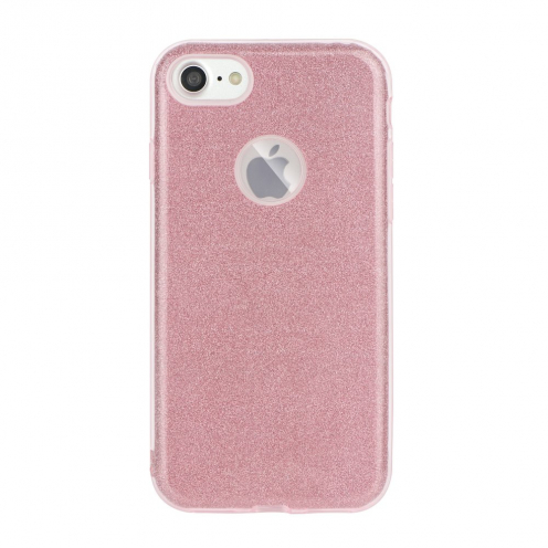 Forcell SHINING carcasa for Huawei P40 LITE E pink