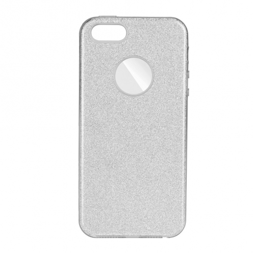 Forcell SHINING carcasa for Huawei P40 LITE E silver