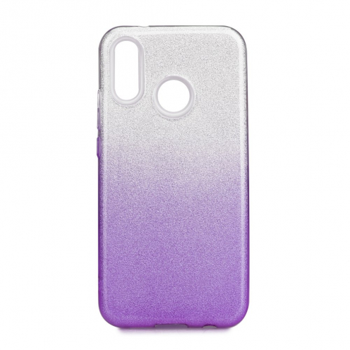 Forcell SHINING carcasa for Huawei P20 LITE Transparent/violet