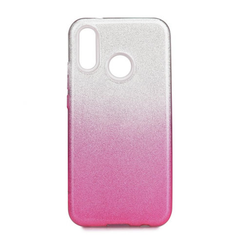 Forcell SHINING carcasa for Huawei P20 LITE clear/pink