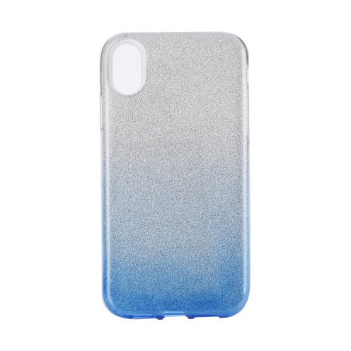 """Forcell SHINING carcasa for iPhone XS Max ( 6,5"""" ) clear/blue"""