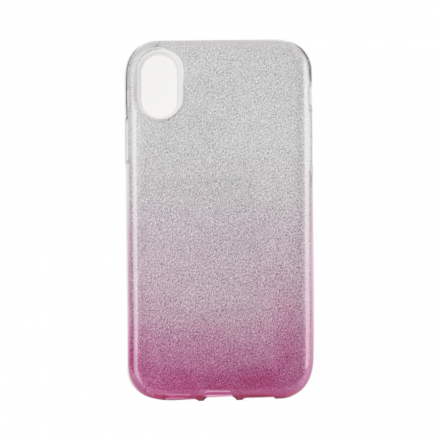"""Forcell SHINING carcasa for iPhone XS Max ( 6,5"""" ) clear/pink"""