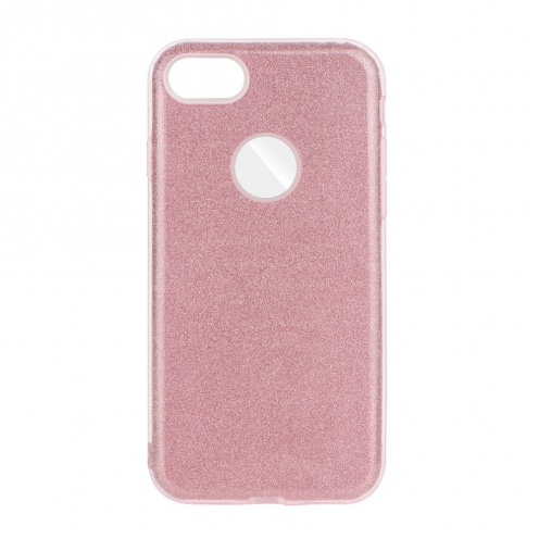 Forcell SHINING carcasa for iPhone 7 / 8 / SE 2020 pink