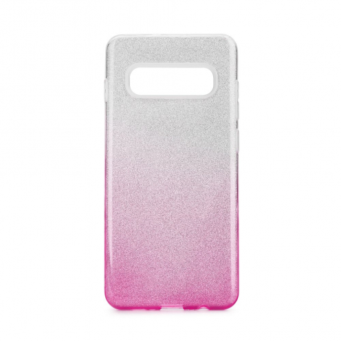 Forcell SHINING carcasa for Samsung Galaxy S20 Ultra / S11 Plus clear/pink