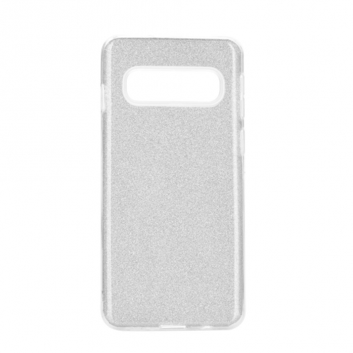 Forcell SHINING carcasa for Samsung Galaxy S20 Plus / S11 silver