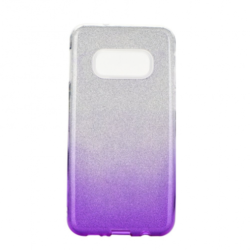 Forcell SHINING carcasa for Samsung Galaxy S20 / S11e clear/violet