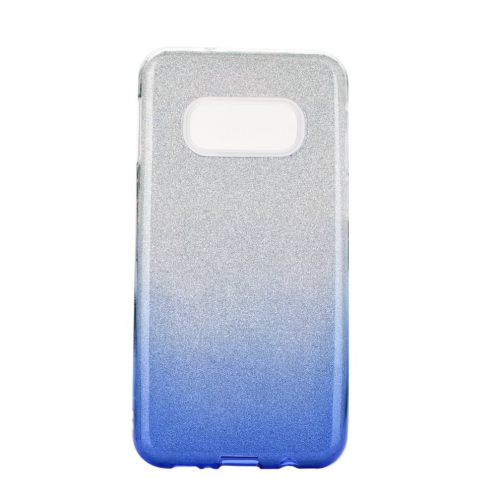 Forcell SHINING carcasa for Samsung Galaxy S20 / S11e clear/blue