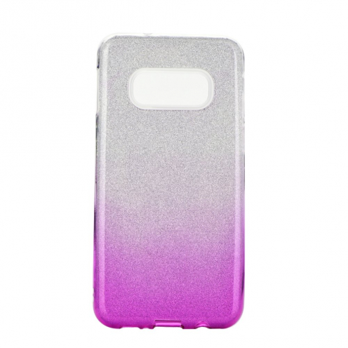 Forcell SHINING carcasa for Samsung Galaxy S20 / S11e clear/pink