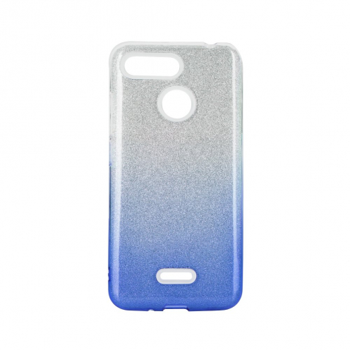 Forcell SHINING carcasa for Xiaomi Redmi 8 / Redmi 8A clear/blue
