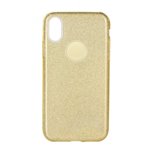Forcell SHINING carcasa for Samsung Galaxy A40 gold