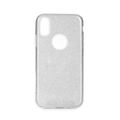 Forcell SHINING carcasa for iPhone 12 / 12 PRO silver