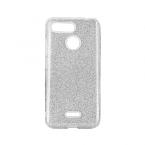 Forcell SHINING carcasa for Xiaomi Redmi 9 silver