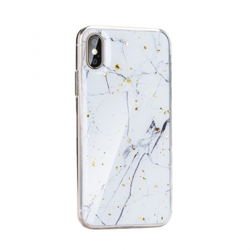 Forcell MARBLE carcasa for iPhone 12 MINI Design 1