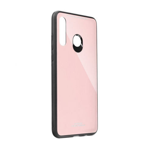 GLASS carcasa for Huawei Y6P pink