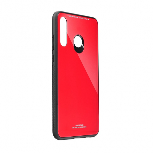 GLASS carcasa for Huawei Y5P red