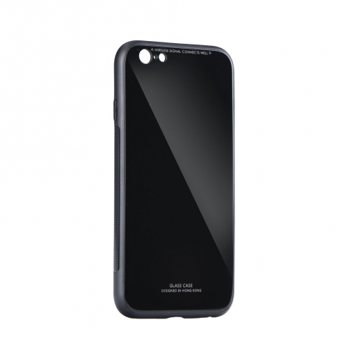 GLASS carcasa for iPhone 12 PRO MAX black