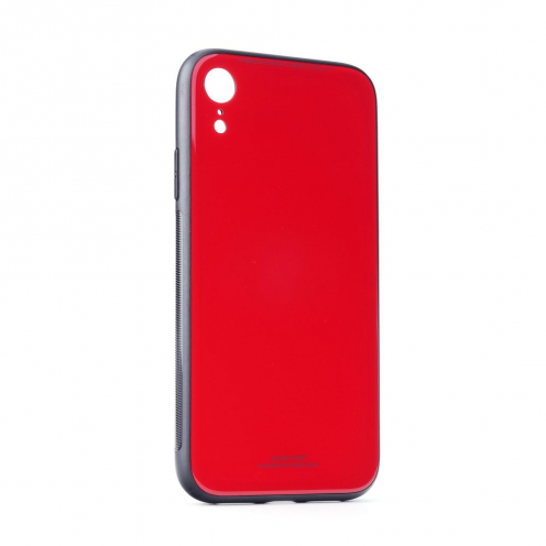 GLASS carcasa for iPhone 12 PRO MAX red