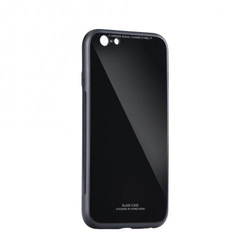 GLASS carcasa for iPhone 12 MINI black