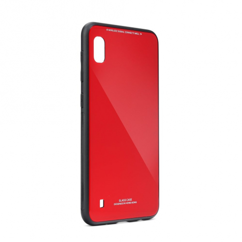 GLASS carcasa for Samsung Galaxy A21S red