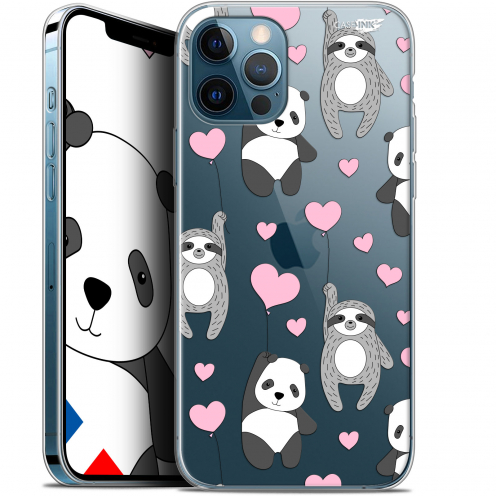 "Carcasa Gel Extra Fina Apple iPhone 12 / 12 Pro (6.1"") Design Panda'mour"