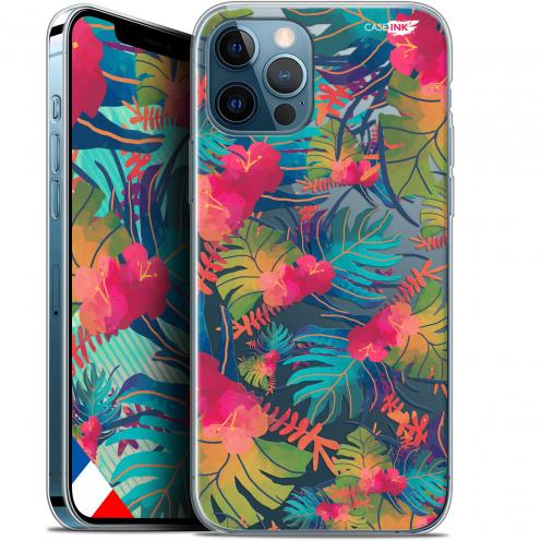 """Carcasa Gel Extra Fina Apple iPhone 12 / 12 Pro (6.1"""") Design Couleurs des Tropiques"""