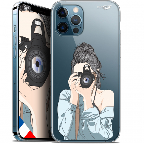 "Carcasa Gel Extra Fina Apple iPhone 12 / 12 Pro (6.1"") Design La Photographe"